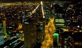 Panorámica nocturna. Cortesía: IDT. Foto por Stephanie Weber